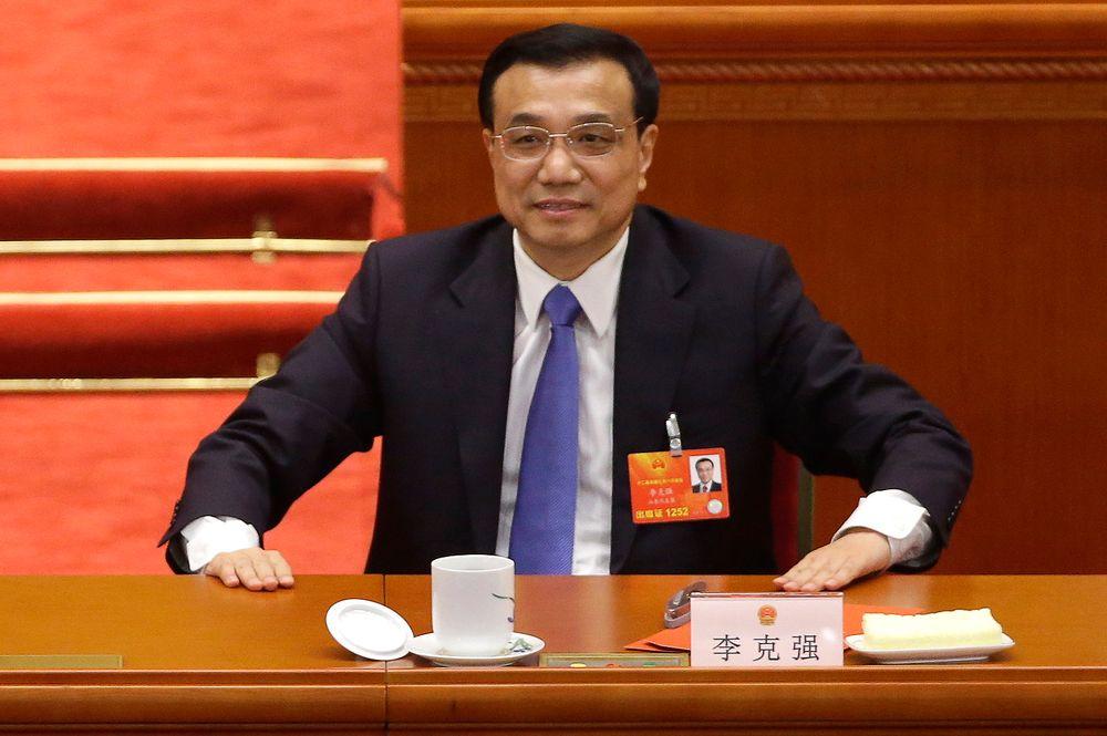 Kinas statsminister Li Keqiang holdt en sjelden pressekonferanse.