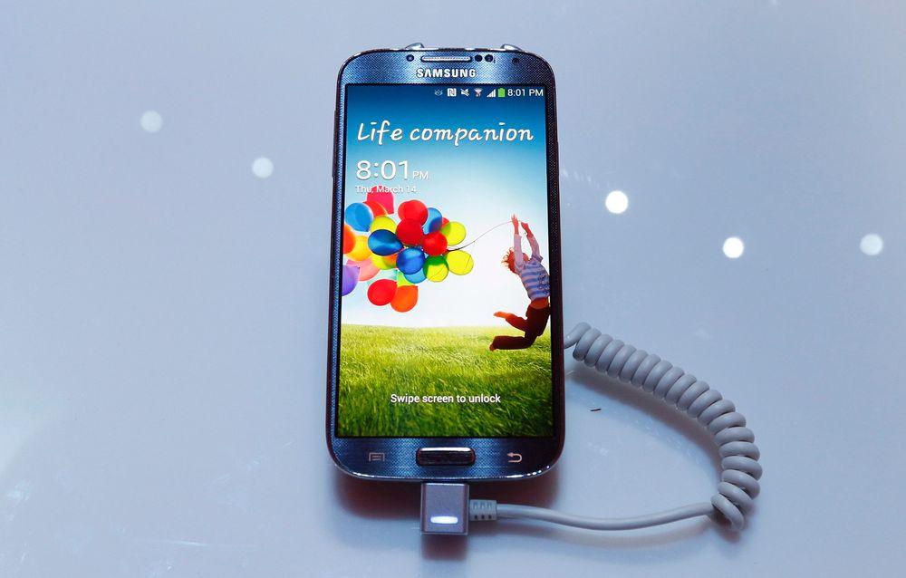 Samsung presenterte i natt sin Galaxy S4 i Radio City Music Hall i New York. Teknisk Ukeblad var til stede.