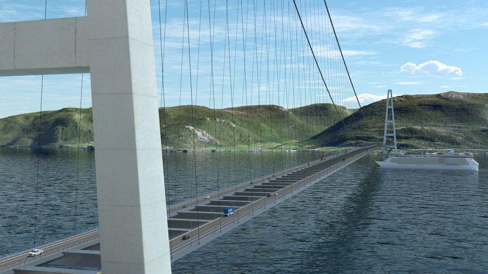 Flere ekstreme fjordkryssinger gjør ny ferjefri E39 til en stor teknologisk utfordring.