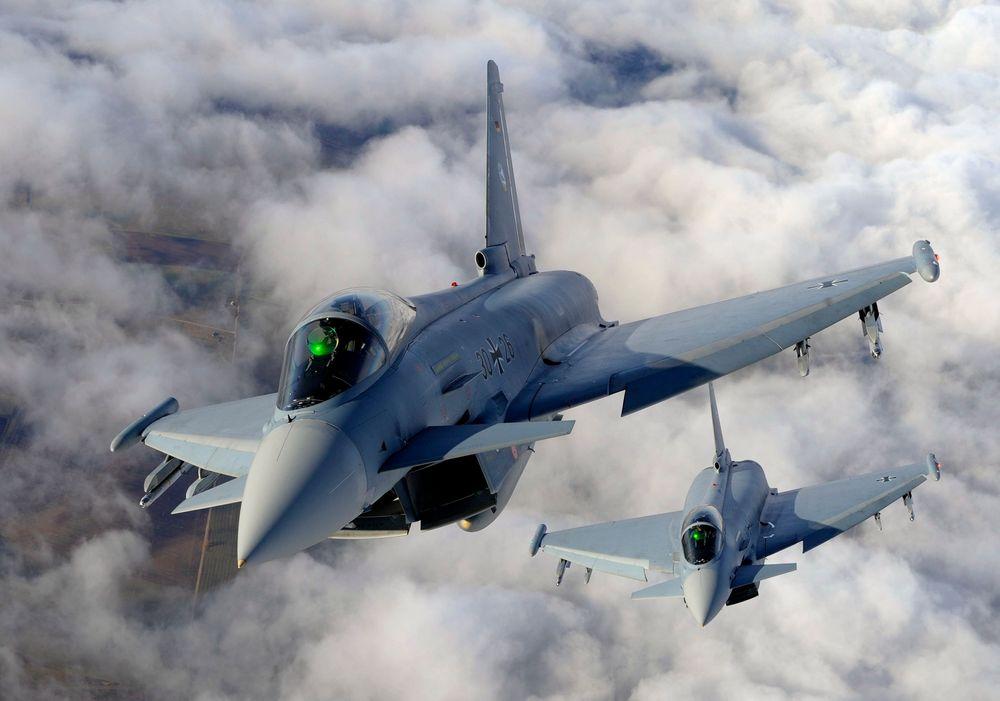 Eurofighter mener Danmark kan dra nytte av å fly Typhoon slik blant annet nabolandet Tyskland gjør.