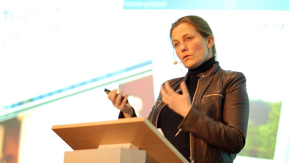 Krever tydelighet: Myndighetene må skape en tydeligere politikk som viser at investeringer i ny fornybar kraft vil lønne seg og samtidig redusere CO2-utslippene, mener styreleder i Eidsiva, Alexandra Bech Gjørv.