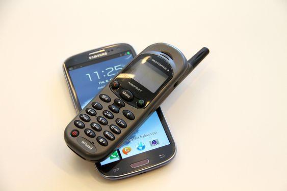 Mobiltelefoner antenne