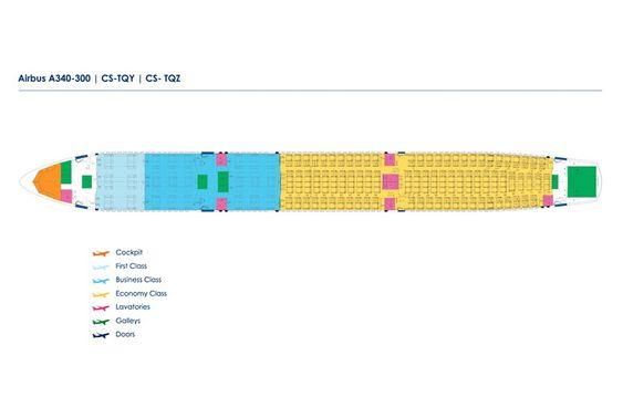 Slik er kabinkonfigurasjonen på flyene Norwegian har skaffet som backupløsning på grunn av Dreamliner-krisa.