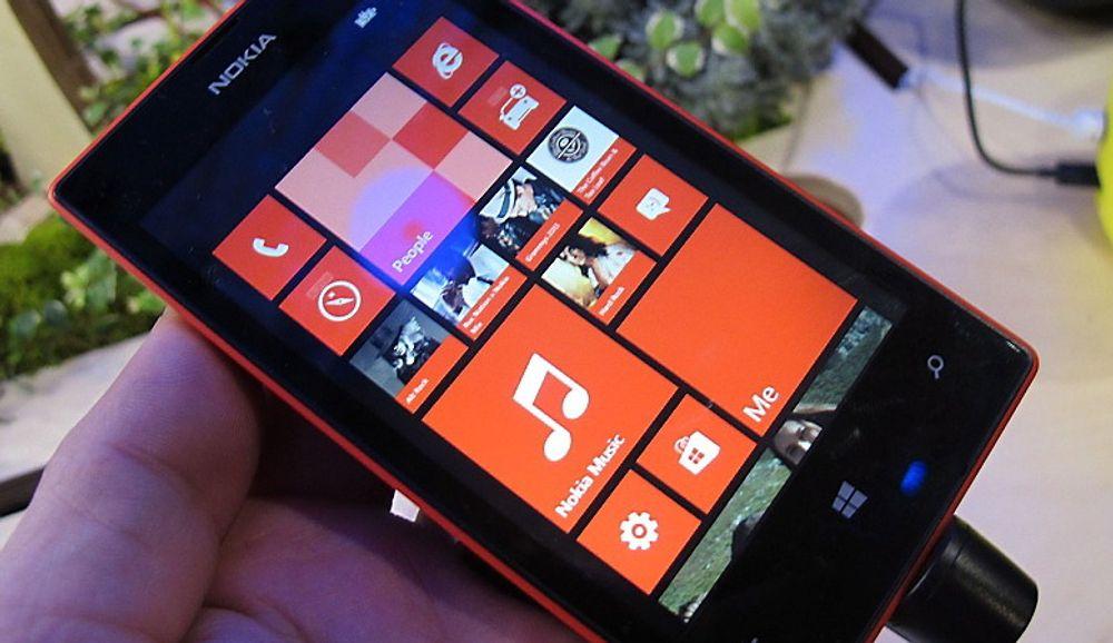 Nokia Lumia 520 var en av de store snakkisene under Mobile World Congress.