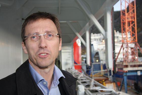Tradisjon: Konsernsjef Roy Reite synes navnet Vard klinger godt og signaliserer norsk  skipsbyggingstradisjonen.