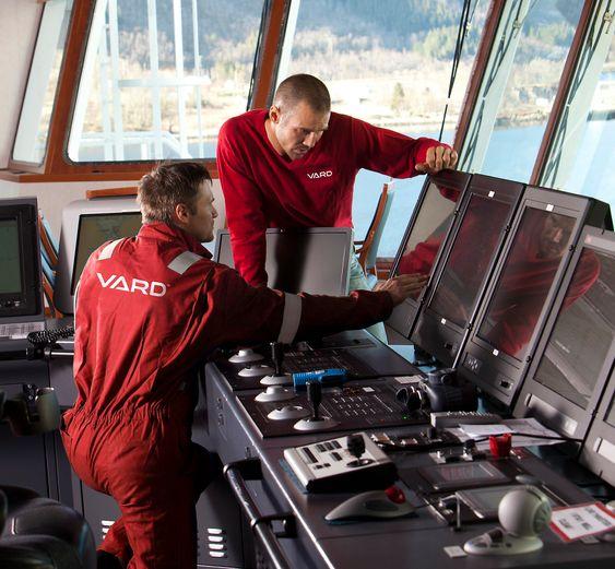 Oppdresset: Vard Group har fem verft i Norge samt spesialselskap som Vard Electro.