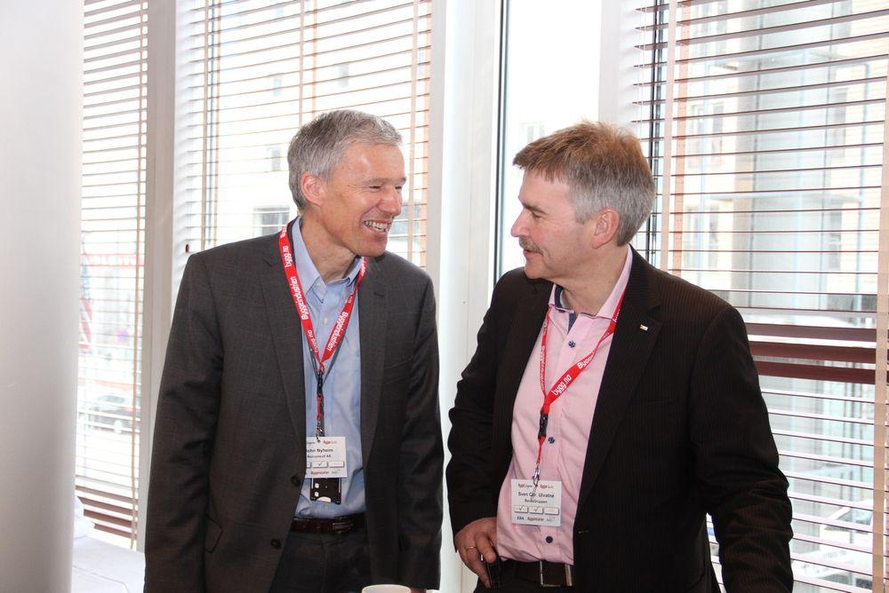 John Nyheim til venstre og Sven Christian Ulvatne