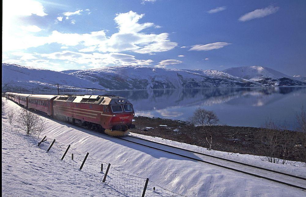 Brenselceller: Istedenfor at Nordlandsbanen elektrifiseres kan jernbaneselskapene bytte ut diesellokomotivene med brenselcellelokomotiver drevet av hydrogen, foreslår Sintef-forsker Steffen Møller-Holst. Foto: NSB