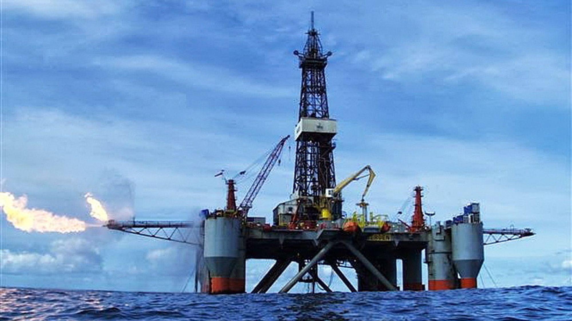 Songa Trym boret Svale Nord til en total dybde på 2005 meter. Her ble det funnet olje.