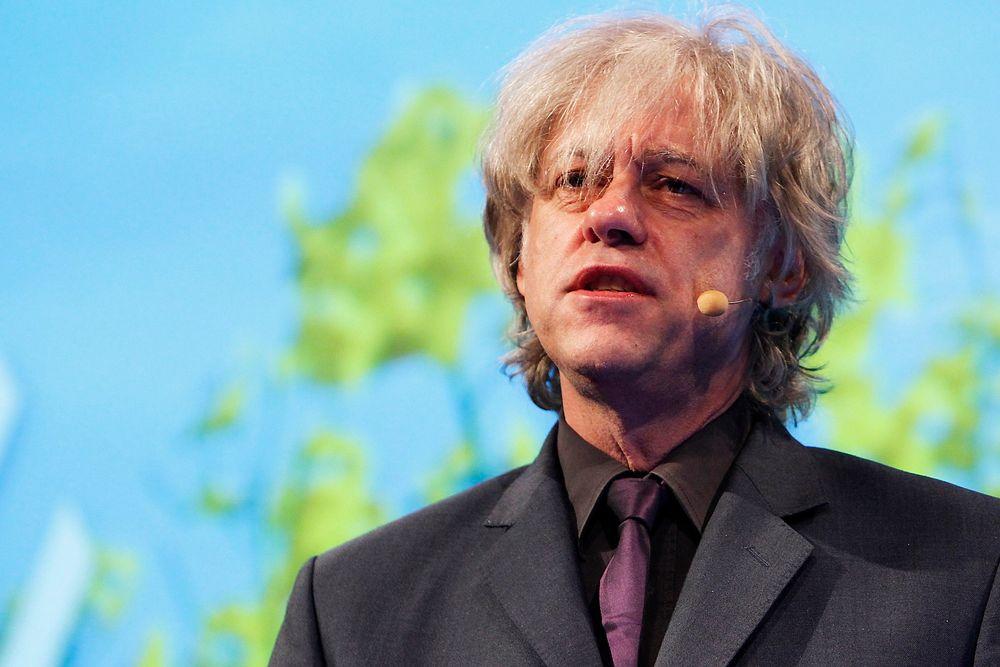 KLAR FOR ROMMET: Bob Geldof.
