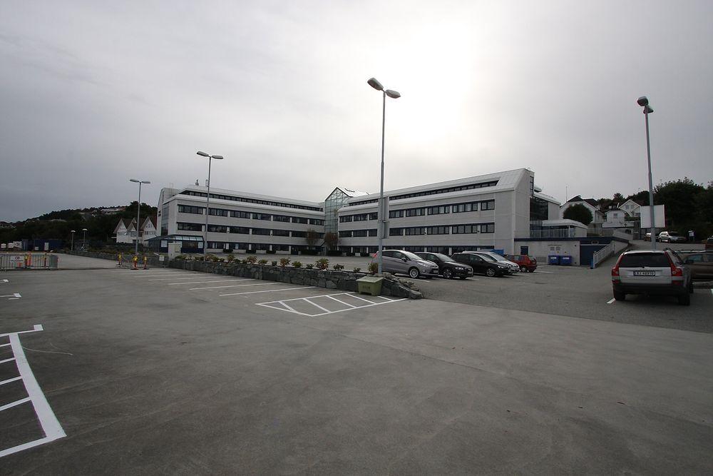 Teknologipark: I dette bygget på Tasta utenfor Stavanger vil Roxel få inn flere teknologibedrifter under samme tak.