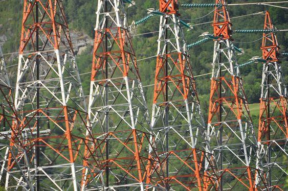 Kraftledning Refsdal - Fardal m/Sogndalsfjordspennet