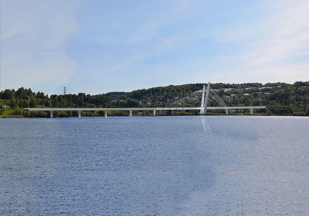 Slik vil brua over Farriseide i Vestfold se ut.