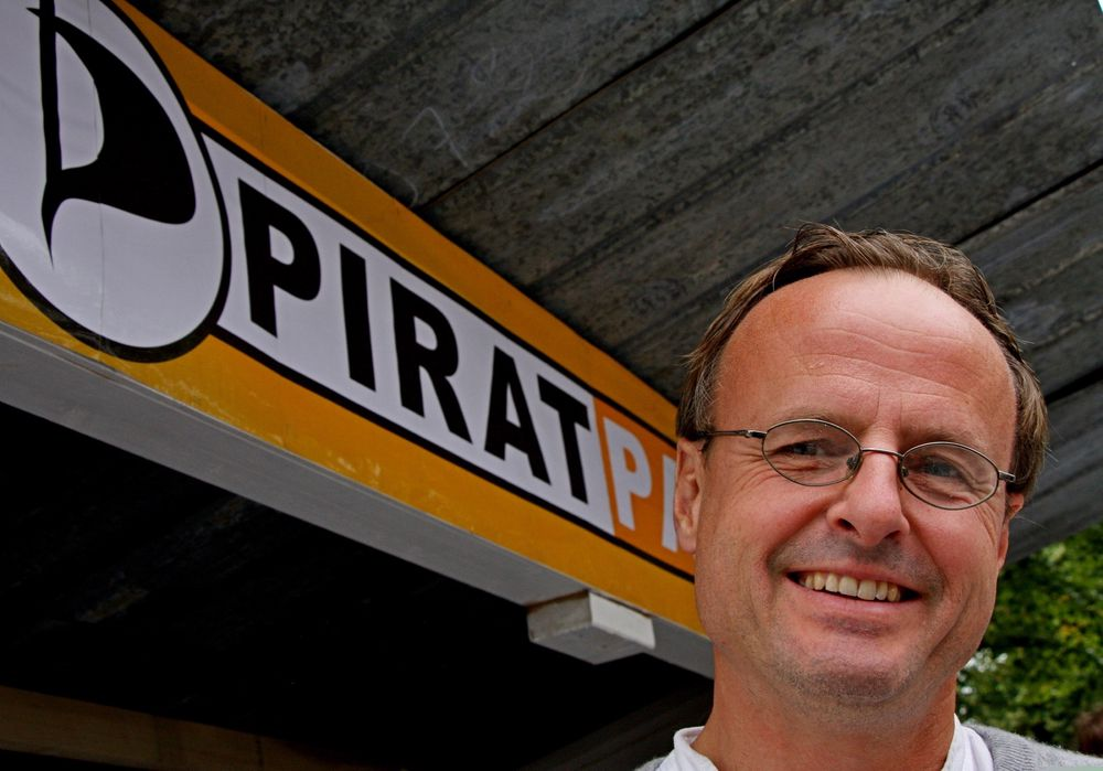 POPULÆR: Håkon Wium Lie merker stor interesse for Piratpartiet blant yngre velgere.