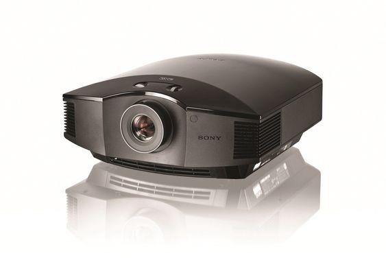VPL-HW55ES: En full-HD-modell med 3D-støtte.