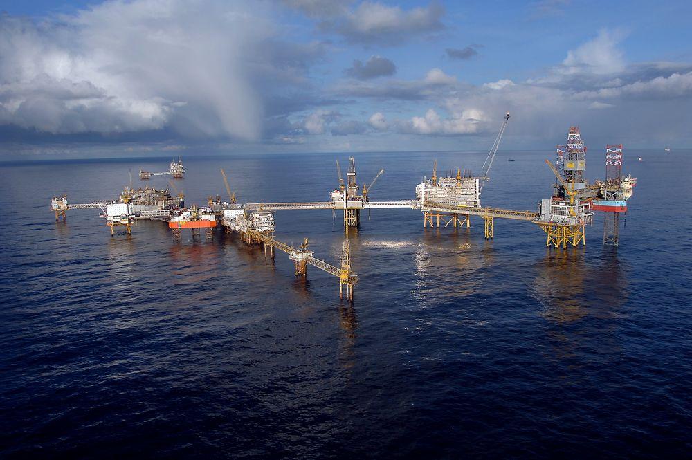 157 oljearbeidere flyttes fra Ekofisk-feltet etter stormvarsel.