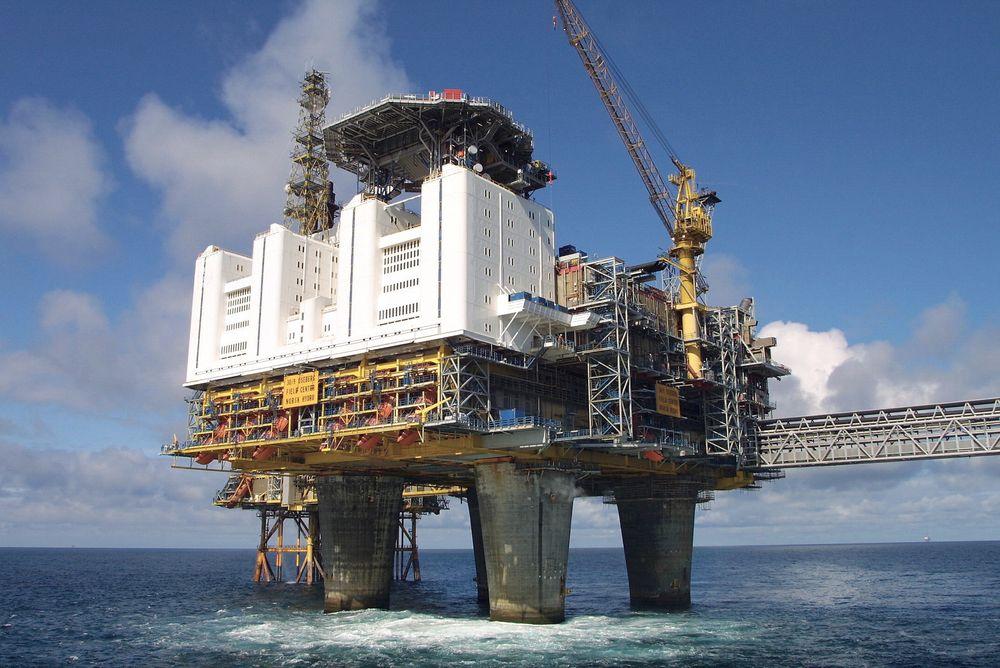 Økt utvinning: Statoil jobber for å øke utvinningsgraden sin fra 50 til 60 prosent. Her representert ved Oseberg feltsenter.  Foto: Arkiv