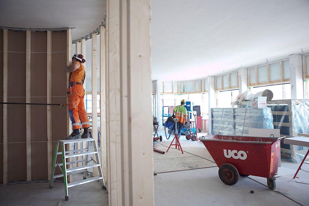 Det har vært en dobling av ledige stillinger innen håndverk, bygg og anlegg de siste fem årene.