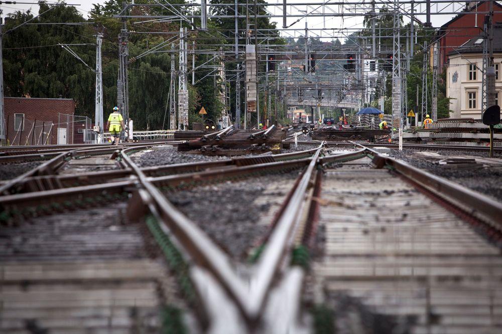Det vil ta dobbelt så lang tid å skifte ut signalanlegget i Norge som i Danmark.
