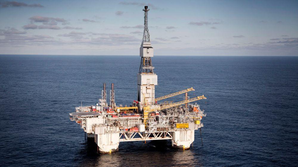 NÆR NJORD: Det nye Snilehorn-funnet ble funnet like i nærheten av Njord-feltet, noe som gjør det lettere å vinne ut oljen.