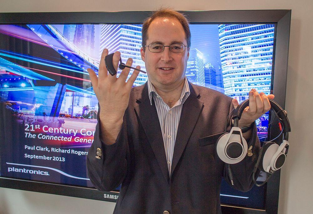 Står det til Plantronics og deres Europa-sjef for forretningsmarkedet, Brian Rogers, er det headsettet som vil bli det ultimate bærbare styringsverkøyet.