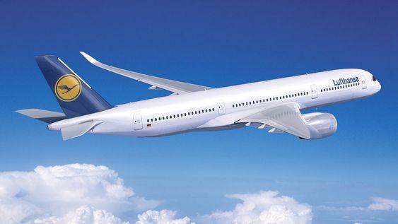 Lufthansa har bestilt 25 A350-900 med første leveranse allerede i 2016.