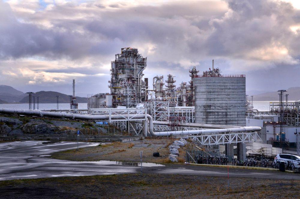 """Gasskraftverket på Melkøya ble kjørt """"i revers"""" og leverte strøm til Finnmark i fjor vinter."""