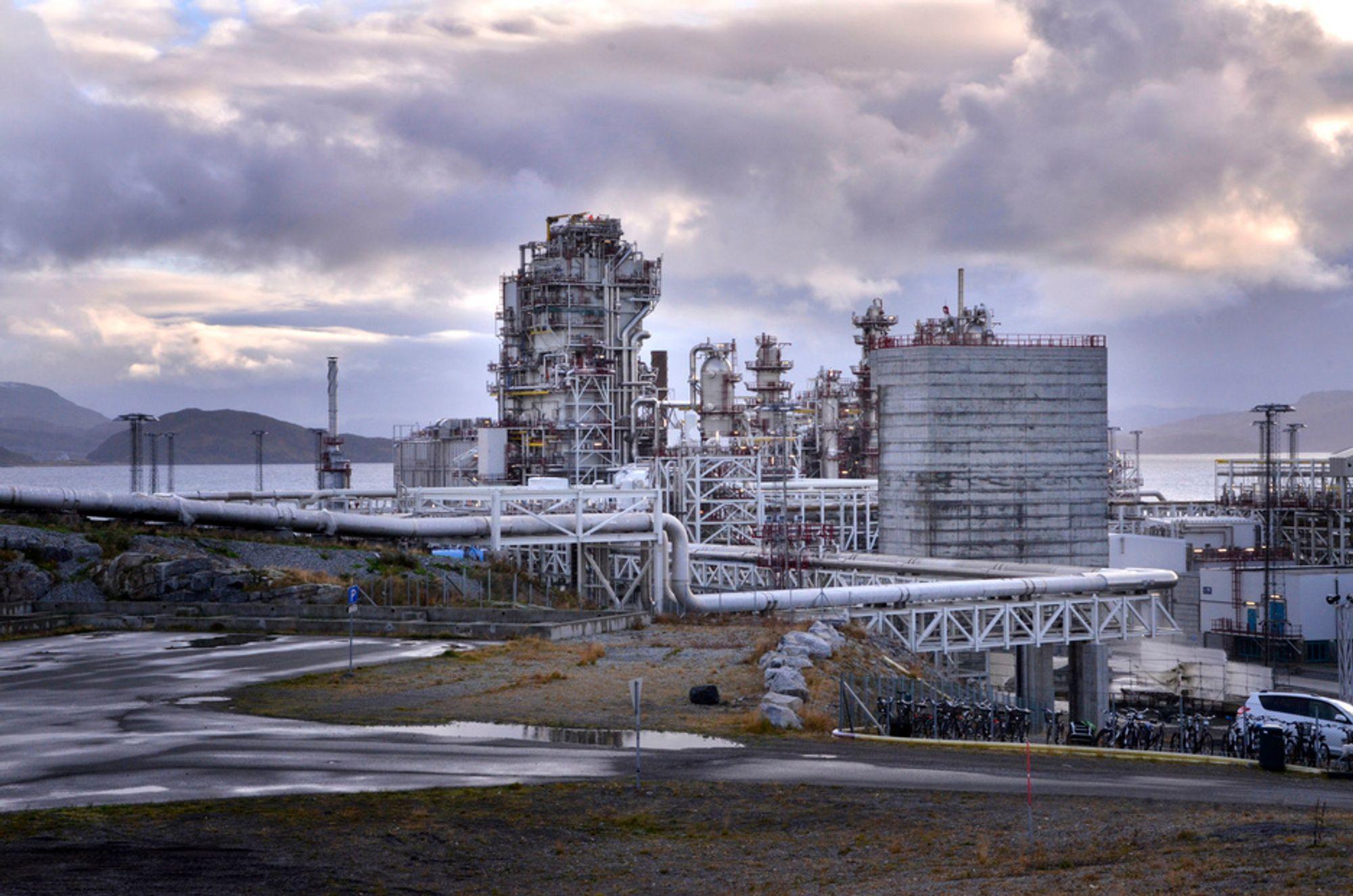 Statoil vil bruke 20 milliarder på Melkøya.