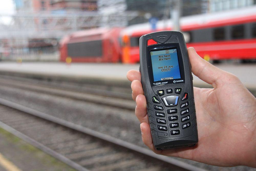 Jernbaneverkets mobilnett gsm-r blir en enda mer kritisk kommunikasjonsplattform med det nye digitale signalsystemet ERTMS.