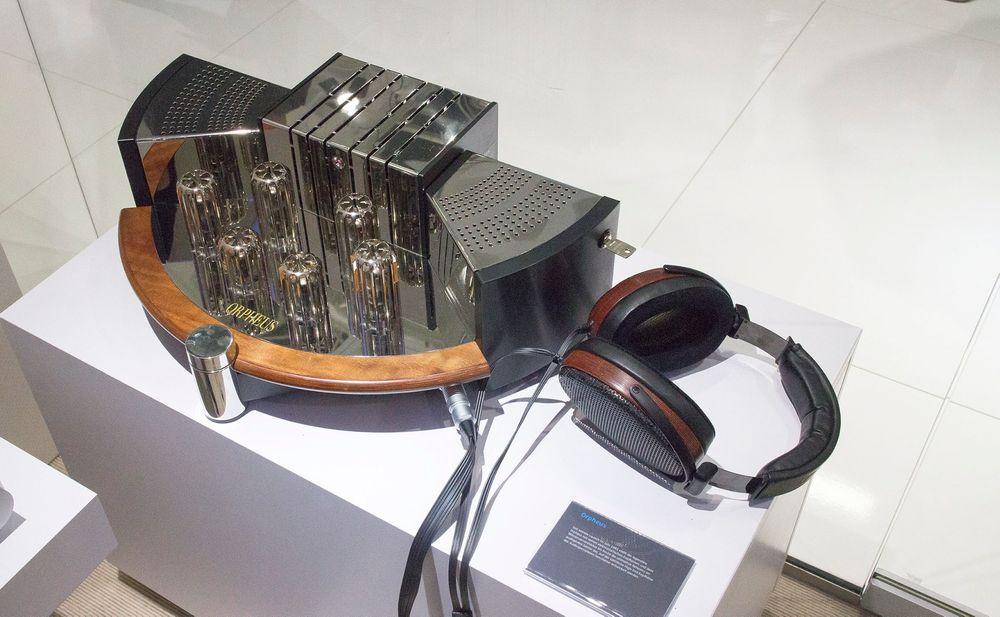 Nesten magisk: Vi har aldri hørt bedre lyd enn med Sennheiser Orphus hodetelefoner fra 1991.