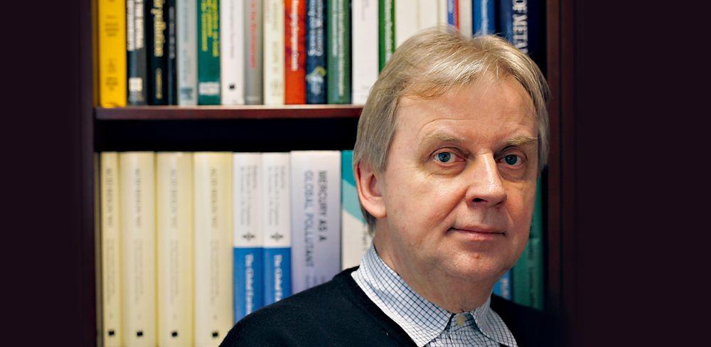Sitert: Jozef Pacyna har skrevet den mest siterte norske miljøforskningsartikkelen gjennom tidene, gjengitt i over 2000 andre artikler. Forskningen hans har vært svært viktig for at det i FN har blitt enighet om en global kvikksølvavtale.