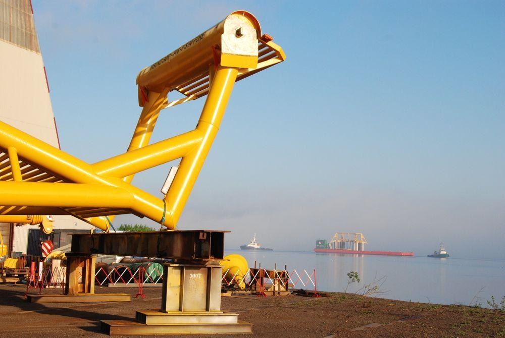 Rask utbygging: Det tok mindre enn tre år fra funn til Visund Sør var i produksjon. foto: Statoil