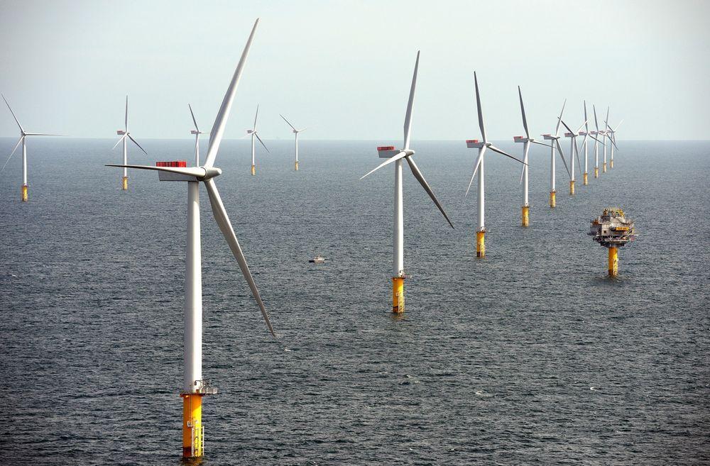 Dyrt: Prognoser viser at kraftprisene i Norge ikke vil bli så høye at det blir lønnsomt å bygge havvindkraft langs norskekysten uten subsidiier, påpeker SSB.  Foto: chpv.co.uk