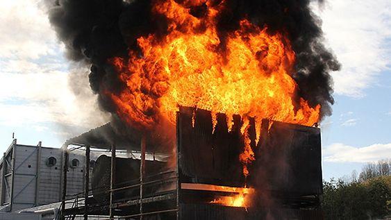 Sintef ønsker å etablere et slags skremmesenter på brannlaboratoriet utenfor Trondheim.