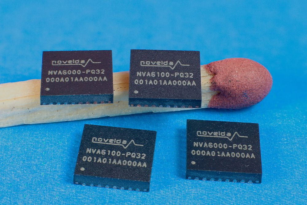 Radarbrikken, NVA6100 CMOS impulse radar chip, er utviklet av det norske selskapet Novelda.