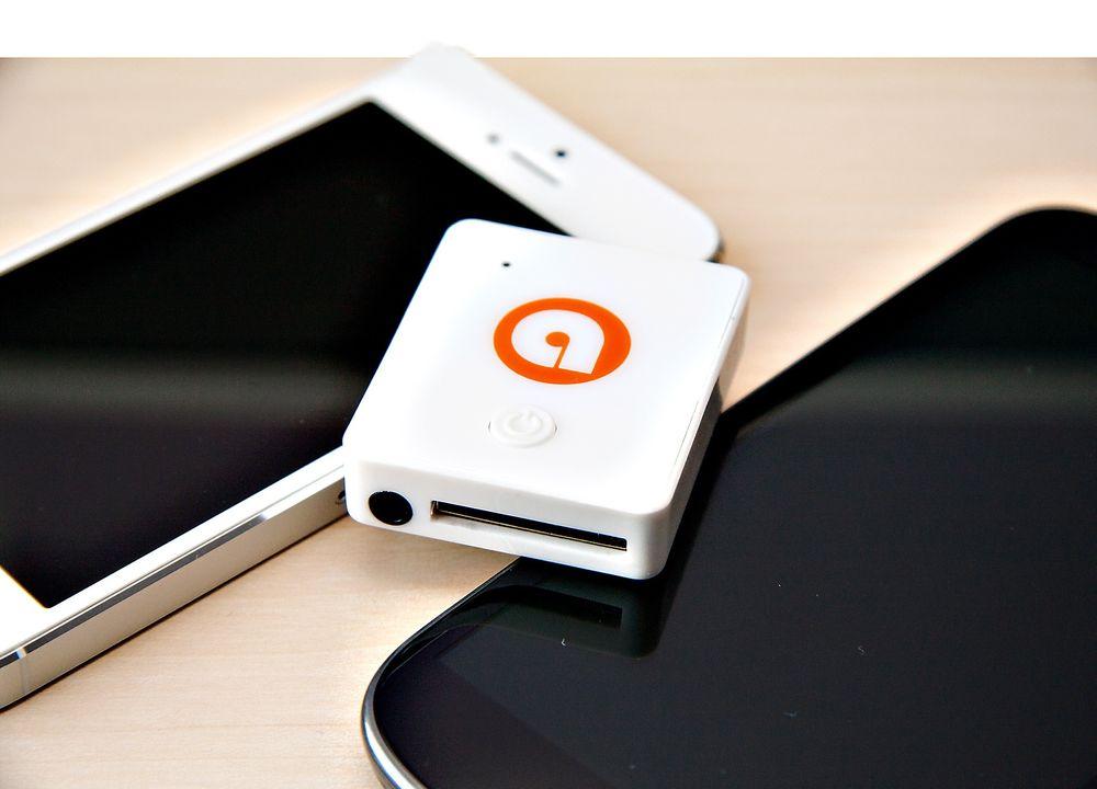 Touchkraft Auris: Denne dingsen gjør Iphone-høyttaleren din om til en bluetooth-høyttaler. Da kan den i tillegg brukes med stort sett alle telefoner.