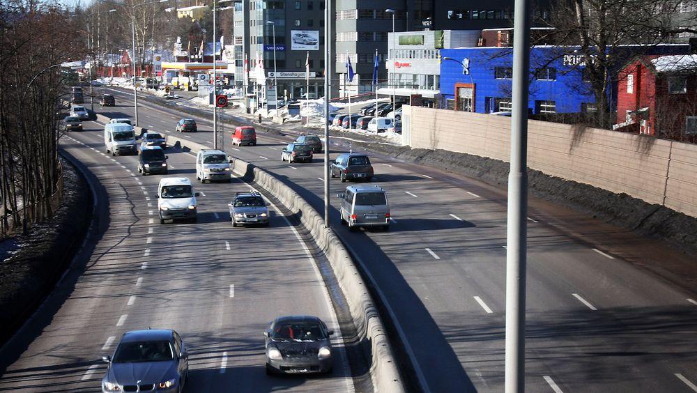 508 milliarder kroner skal brukes på samferdsel i nye Nasjonal transportplan.