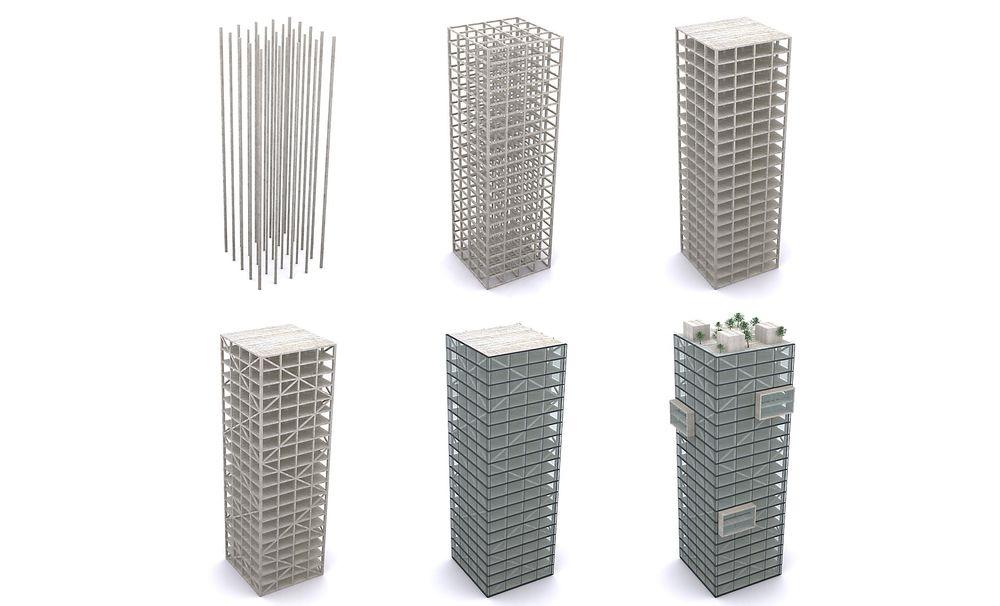 Allerede i 2010 hadde Reiulf Ramstad Arkitekter klare tegningene til et 20 etasjers kontorbygg ført opp med limtrebjelker som bærende konstruksjon og dekker av massivtre. Barentssekretariatet ønsket seg et nytt signalbygg, og det kunne de fått. Planene ble gått gjennom av både Sweco, Rambøll, Treteknisk og Trefokus. Det 10 000 m2 store kontorbygget er byggbart og ville blitt verdens største.