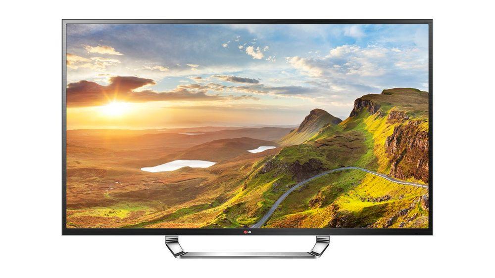 LGs 84 tommer store ultra HD-TV er et syn for øyet.