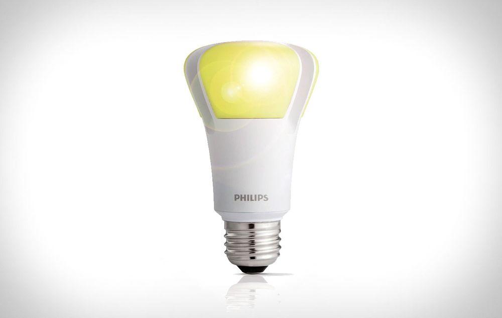 Vil vise deg hvor du er: LED-pærer som denne vil kunne bestemme posisjonen til mobiler og nettbrett hvis det går som ByteLight ønsker.