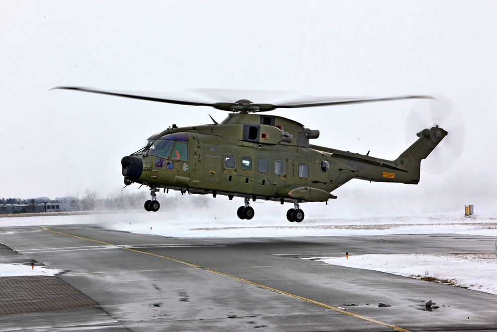 Sea King-erstatter: Siden 2010 har den danske redningstjenesten kun fløyet med AW/EH101.   alle foto: Per Erlien Dalløkken