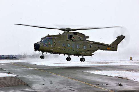 Også den danske 722-skvadronen erstattet Sea King (S-61) med AW101 (EH101).