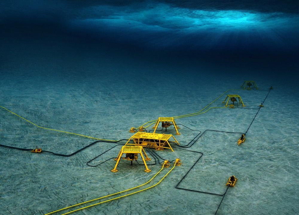 Kirinskoye is the first subsea project on the Russian shelf. The area is iced over for seven months per year: this is part of the challenge; and FMC has come up with the solution. Photo: FMC Technologies