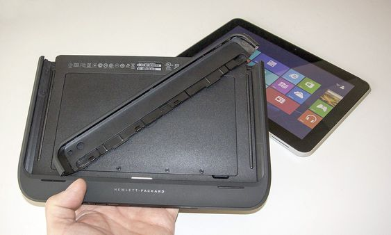 Beskyttet: HP har laget en bra beskyttelsesjakke til ElitePad-en som også gir flere porter og mer batteritid, men den er dyr.