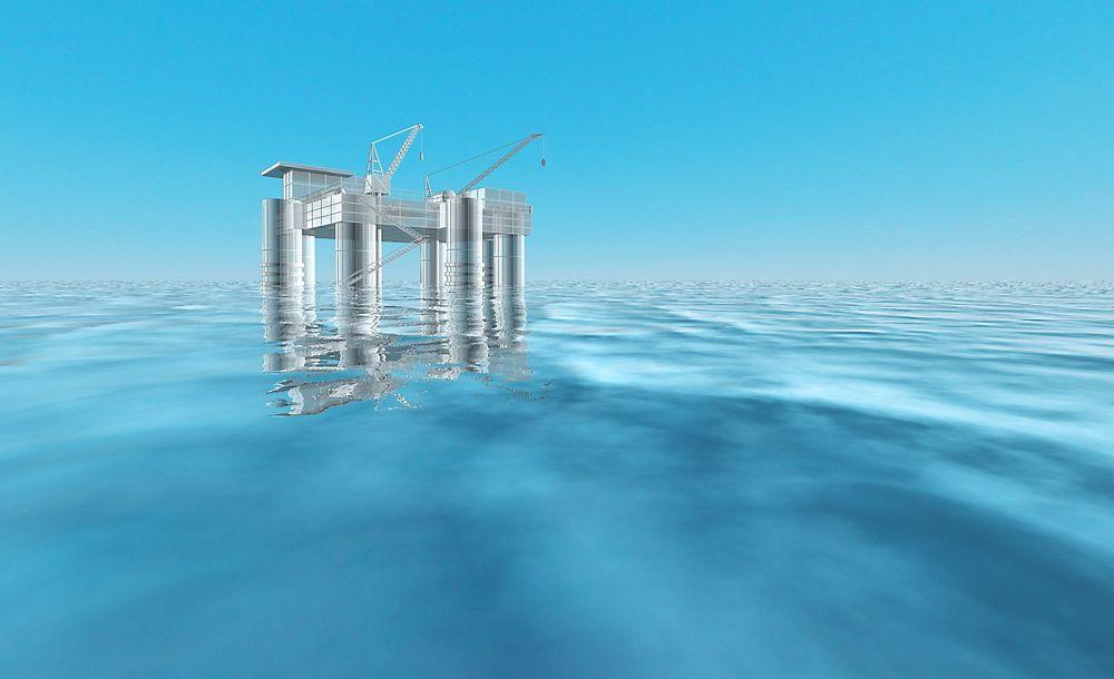 Kraftverket skal plasseres offshore, trolig på en halvt nedsenkbar rigg.