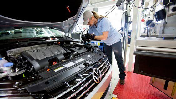 Volkswagen satser på at Linked Design skal lede til teknologi som sjekker kvaliteten på bildelene under produksjon i stedet for stikkprøver i etterkant.