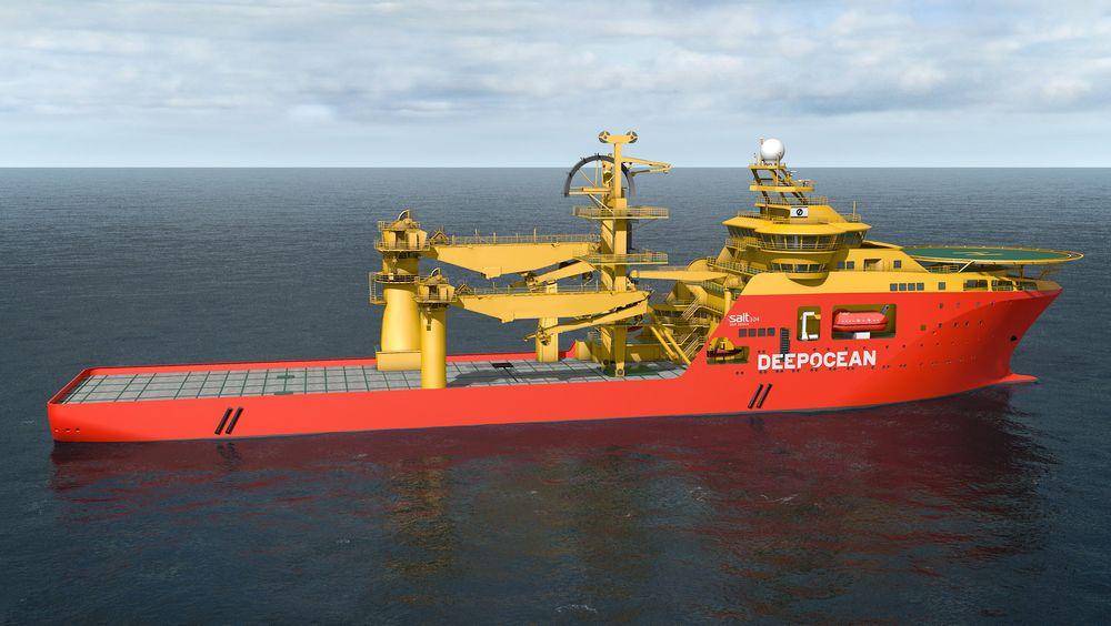 Deep Ocean skal chartre dette fartøyet i fem og et halvt år fra 2016.