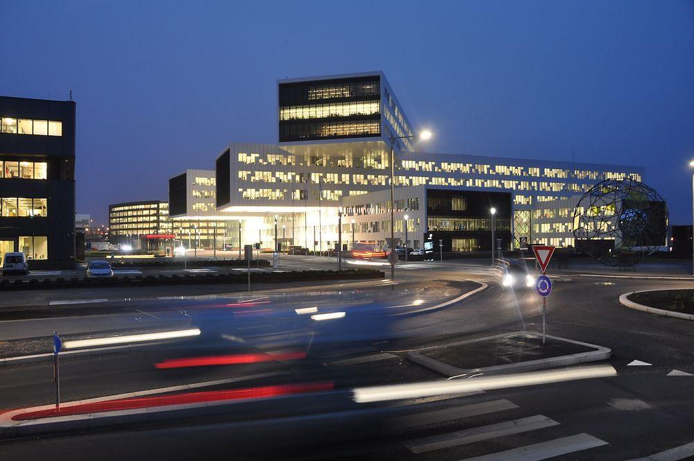 Blant annet i det nye Statoil-bygget på Fornebu kan det bli «free seating» i fremtiden.
