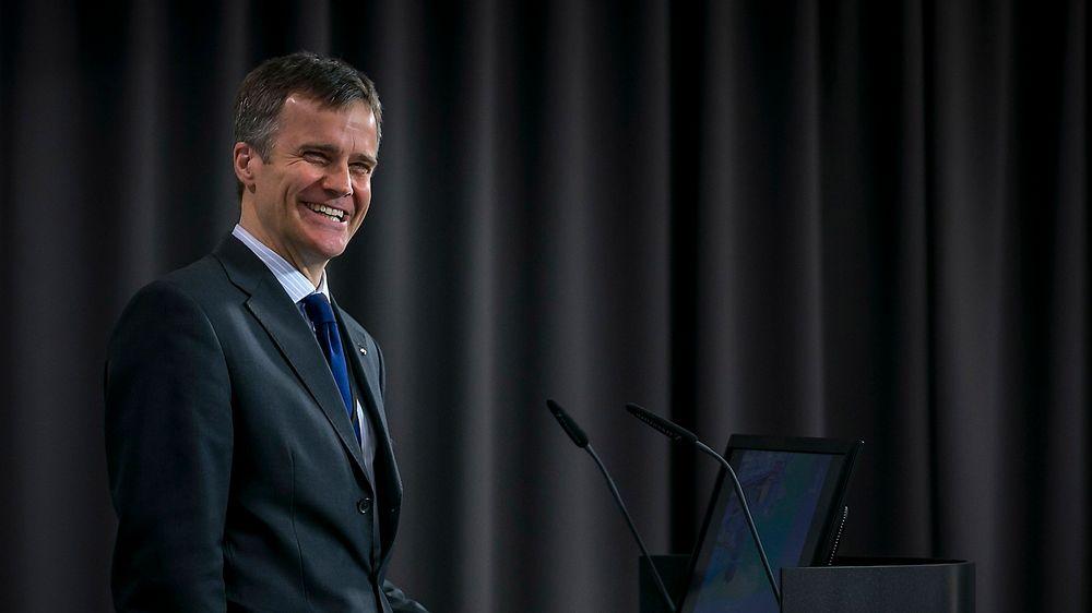 Helge Lund har blitt tildelt Oslofjord Offshore Forum sin ærespris for godt lederskap.