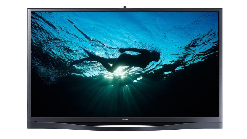 64F8505 er en fantastisk plasma-TV og viser med tydeligvis at plasmaen ikke er død.